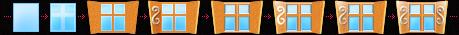 Рис. 25 Процесс создания главного окна