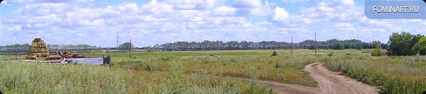 Вид за огородами