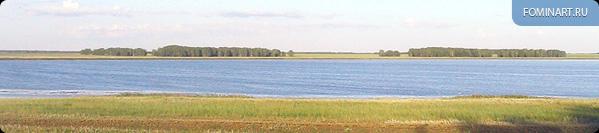 Проезжая солёное озеро
