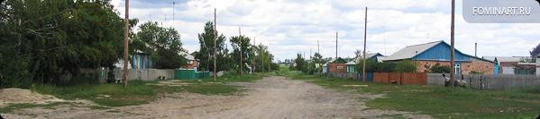 Улица Маслозоводская, одна из немногих улиц с.Лобино