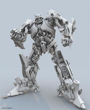 Работа на конкурс TDWC#2 «Трансформер» - Модель затенения