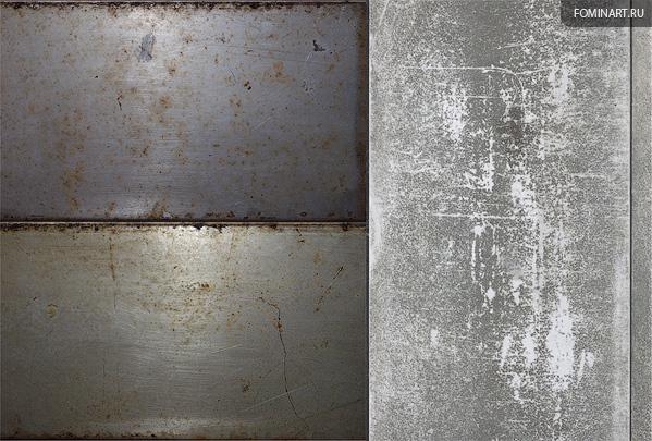 Работа на конкурс TDWC#2 «Трансформер» - Текстура металла