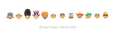 work 13 - Icons «Caps»