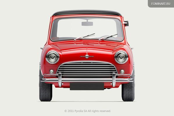 Pyrolia ROAD.Inc -  Austin Cooper S 1965 [фронт]