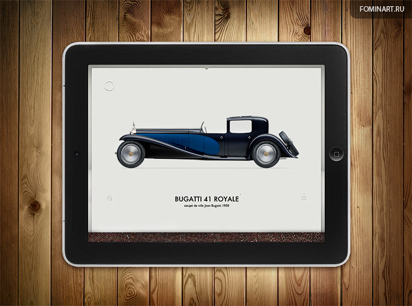 Pyrolia ROAD.Inc -  Bugatti Type 41 Royale 1930 [вид сбоку]