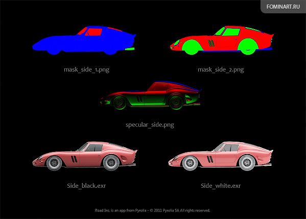 Pyrolia ROAD.Inc - Ferrari 250GTO [1962] - референсы