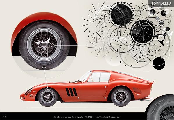 Pyrolia ROAD.Inc - тест Ferrari 250GTO [1962]