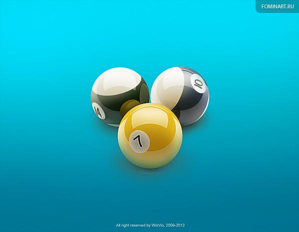 Тизеры «ВБильярд»: шары (wip)